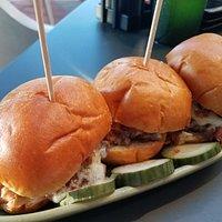 Bacon Burger Sliders