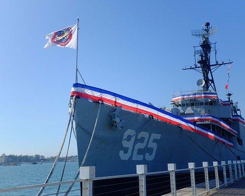 德陽艦-艦艏