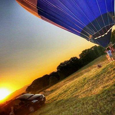 Amazing Ballon experience at dawn ...Across Tuscany 🌄🎈