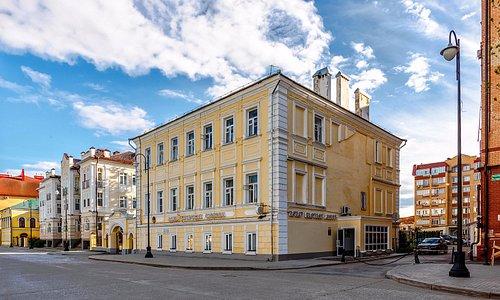 Здание музея Татар Бистэсе