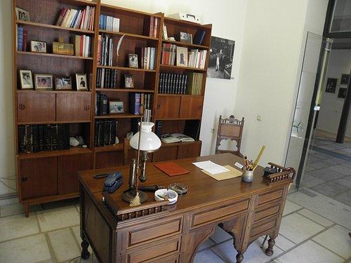 Το γραφείο του Ιάκωβου Καμπανέλλη