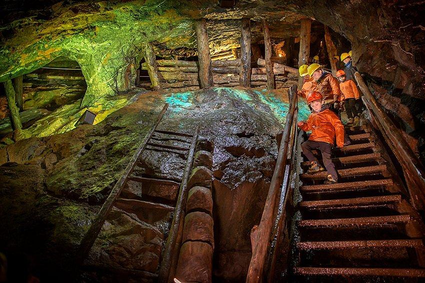 Una miniera da scoprire passo dopo passo... (Foto di Daniele Lira)