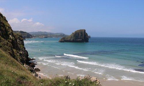 Prachtige kustlijn en uitzichten