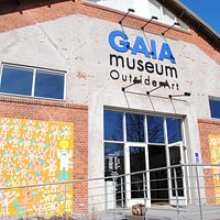 GAIA Museum - indgang til den faste samling