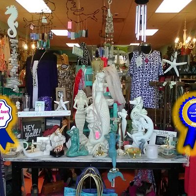 Mermaid Cove is a unique boutique with three coastal locations.