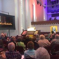 Orgelstudio in der Kreuzeskirche Essen