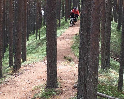 Åsarna som cykel turen går över