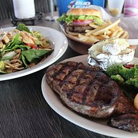 Salads,Burgers, Steaks and much more...