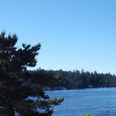 View of Devil's Lake July 2017