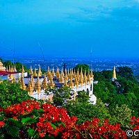 Scenery from Mandalay Hill