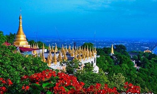 Scenery from Mandalay Hill