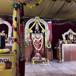 Lord Balaji in all granduer