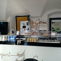 Yummy frozen yoghurt at Sale-Marasino