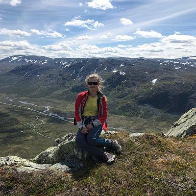 Utsikt mot Hemsedal