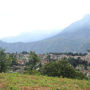 panorama vicino alla Chiesetta