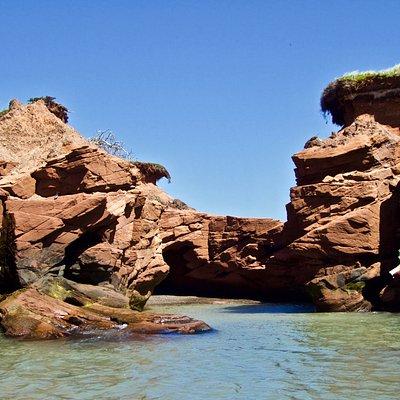 Excursion Grottes et Falaises