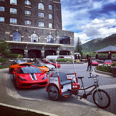 "VIP Entrance at the Fairmont Banff Springs Hotel - pick up/drop off/visit for the ""$1,000,000"" v"