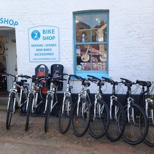 Topshams little bike shop - for cycle hire, sales, repairs & accessories & goodies !