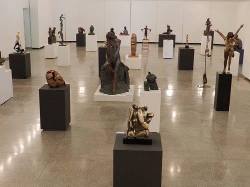 Arte em Bronze era o nome da exposição