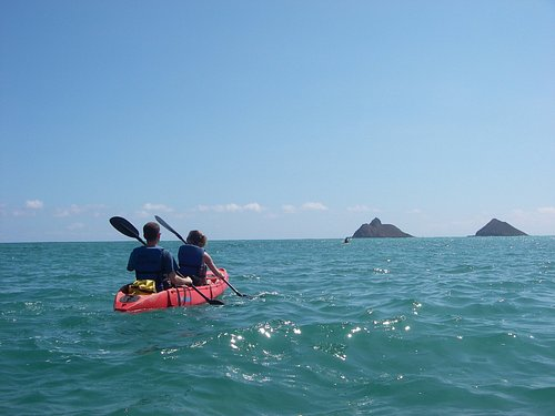 relaxing paddle or challenge fitness excercise with us!