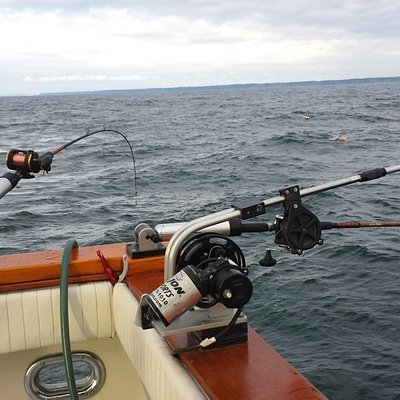 Great fishing gear provided by C&D Charters.