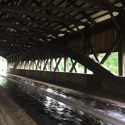 Honeymoon Bridge Jackson NH