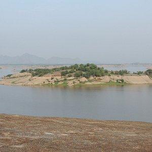 Jawai Dam site