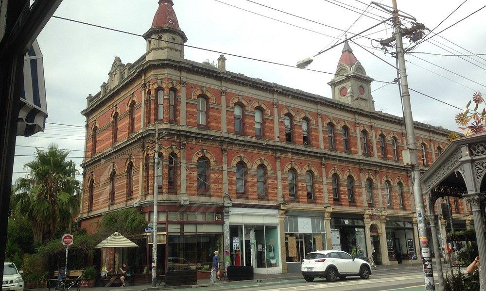 A street corner of Brunswick Street