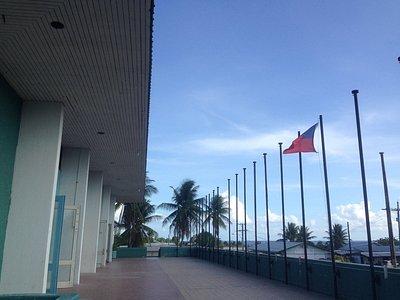 Upper level at Aiwo's Civic Centre