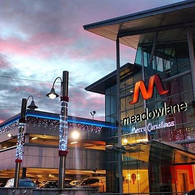 Meadowlane Shopping Centre Magherafelt at Christmas