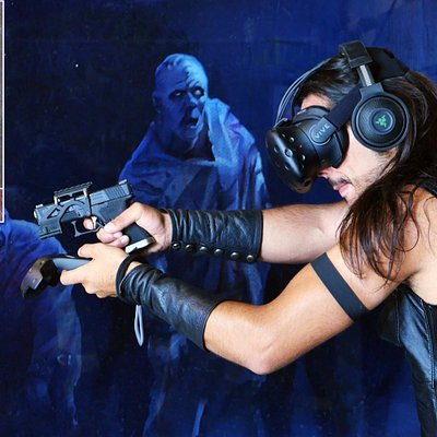 The Zombie Hangar Experience @ Vortex - Enter the Game