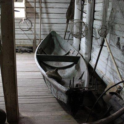 Музей лодок в Белозерске