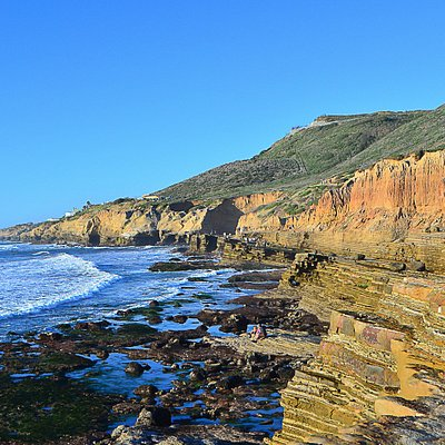 Tidal pool area at Cabrillo National Monument. (©Alex Lee)
