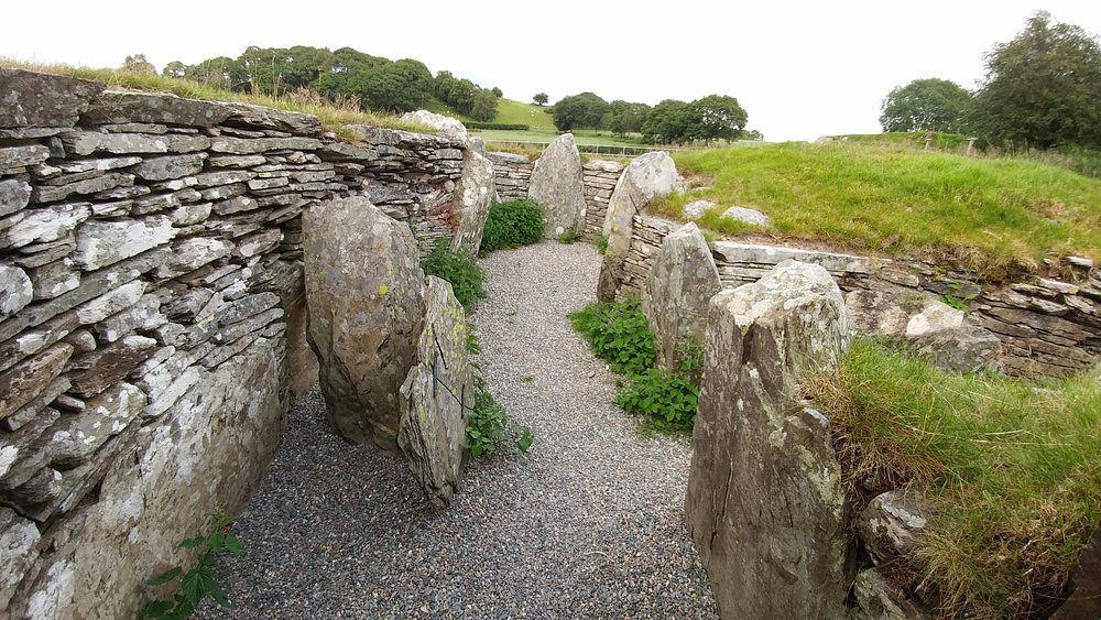 Burial chamber from within. Jul 17