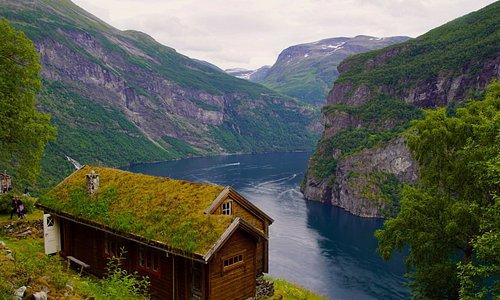 From Knivsflå mountain farm, Geirangerfjord