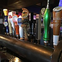 24 different flavors of draft on tap