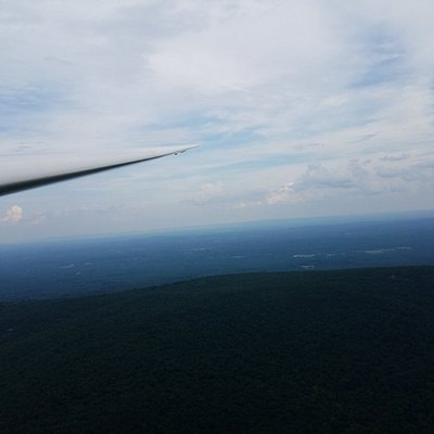 A wing and a view.