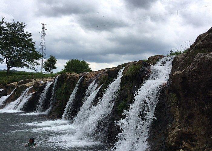 途中にある十二ケ滝