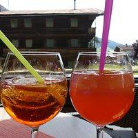 Dejlige kolde drinks når sommeren er over byen :)