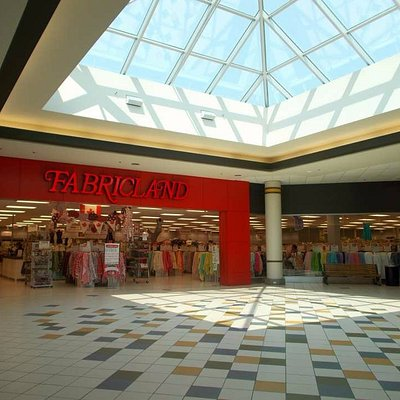 large skylight and Fabricland