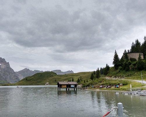 Lake Trinder near Mt. Titlis