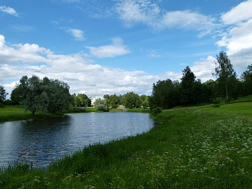 Лето в парке Мариенталь