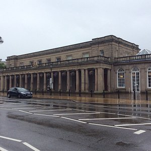 Pump rooms from the park interior shots and a Police lantern in the museum.