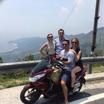 Explore Hai Van Pass on the premium bike Honda PCX.