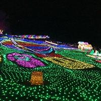 Tokyo German Village X-mas night illumination