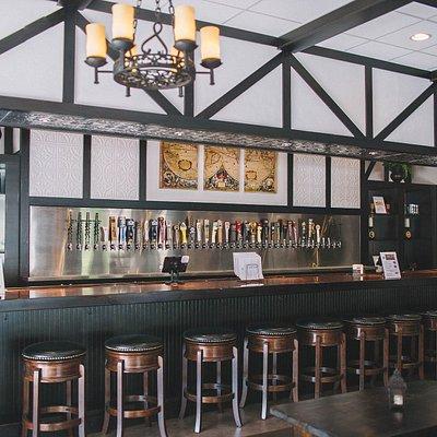 40 taps: Selection of Blackadder beers, guest beers, ciders, wines & Blackadder handcrafted soda