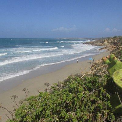 spiaggia lunghissima
