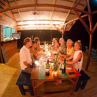 Space available  for private and public events, like this pop up dinner