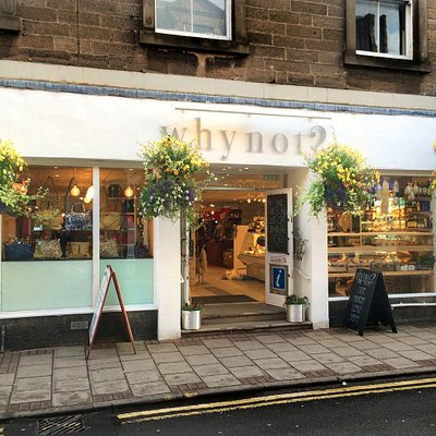 whynot? on the high street in North Berwick, East Lothian, Scotland