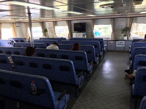 2017年7月16日竹田津から徳山行きに乗船した時